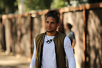 Stanford, CA - Saturday June 30, 2018: Quincy Amarikwa prior to a Major League Soccer (MLS) match between the San Jose Earthquakes and the LA Galaxy at Stanford Stadium.
