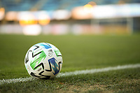 SAN JOSE, CA - OCTOBER 18: MLS soccer ball before a game between Seattle Sounders FC and San Jose Earthquakes at Earthquakes Stadium on October 18, 2020 in San Jose, California.