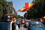 Demonstration against Government by VOX far-right party in Spain