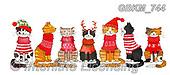 Kate, CHRISTMAS ANIMALS, WEIHNACHTEN TIERE, NAVIDAD ANIMALES, paintings+++++,GBKM744,#xa#