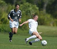 Allison Fries, U-17 US WNT, March 12, 2004