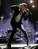 Montreal (QC) CANADA -  Feb  2011 File Photo - Linkin Park  singer Chester Bennington