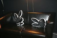Sitzkissen in der Playboy Lounge