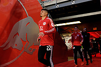 Harrison, NJ - Tuesday April 10, 2018: Florian Valot prior to leg two of a  CONCACAF Champions League semi-final match between the New York Red Bulls and C. D. Guadalajara at Red Bull Arena. C. D. Guadalajara defeated the New York Red Bulls 0-0 (1-0 on aggregate).