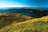 Loch Venachar and Ben Gullipen from Ben Ledi, Loch Lomond and the Trossachs National Park, Stirlingshire