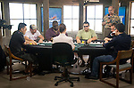 A view of the final table set