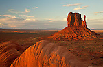 The Left Mitten in Monument Valley Tribal Park, Arizona