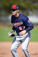 Minnesota Twins first baseman Max Kepler (67) during a Spring Training practice on March 1, 2016 at Hammond Stadium in Fort Myers, Florida.  (Mike Janes/Four Seam Images)