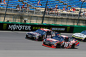 NASCAR XFINITY Series<br /> Alsco 300<br /> Kentucky Speedway, Sparta, KY USA<br /> Saturday 8 July 2017<br /> Kyle Busch, NOS Energy Drink Rowdy Toyota Camry and Erik Jones, Reser's American Classic Toyota Camry<br /> World Copyright: Russell LaBounty<br /> LAT Images