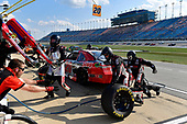 NASCAR XFINITY Series<br /> TheHouse.com 300<br /> Chicagoland Speedway, Joliet, IL USA<br /> Saturday 16 September 2017<br /> Erik Jones, NBA 2K18/GameStop Toyota Camry makes a pit stop, Sunoco<br /> World Copyright: Logan Whitton<br /> LAT Images