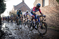 Damien Gaudin (FRA/Total Direct Energie)<br /> <br /> 53rd Le Samyn 2021<br /> ME (1.1)<br /> 1 day race from Quaregnon to Dour (BEL/205km)<br /> <br /> ©kramon