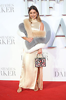 """Louise Thompson<br /> at the """"Fifty Shades Darker"""" premiere, Odeon Leicester Square, London.<br /> <br /> <br /> ©Ash Knotek  D3223  09/02/2017"""