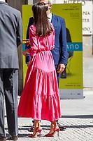 MADRID, SPAIN - June 09: **NO SPAIN** Queen Letizia of Spain attends the Opening of the exhibition 'Berlanguiano. Luis Garcia Berlanga (1921-2021)' at Real Academia de San Fernando on June 9, 2021 in Madrid, Spain. Credit: Jimmy Olsen/MediaPunch