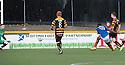 Cowdenbeath's Kudus Oyenuga (19) scores their second goal.