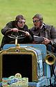 04/06/05 - CIRCUIT HISTORIQUE - PUY DE DOME - FRANCE - Commemoration officielle du Centenaire de la Course GORDON BENNETT. Edouard MICHELIN et Jean GALLABRUN au volant de la Richard BRASIER type course de 1907 - Photo Jerome CHABANNE