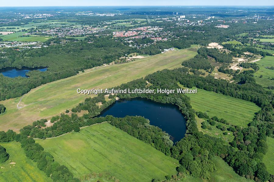 Hamburg Boberg, Badesee im Naturschutzgebiet Boberger Dünen