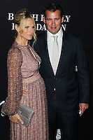 SANTA MONICA, CA, USA - OCTOBER 18: Molly Sims, Scott Stuber arrive at Elyse Walker's 10th Annual Pink Party held at Santa Monica Airport HANGAR:8 on October 18, 2014 in Santa Monica, California, United States. (Photo by Celebrity Monitor)