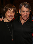 "Susan Birkenhead and Stephen Schwartz attends the Opening Night performance afterparty for ENCORES! Off-Center production of ""Working - A Musical""  at New York City Center on June 26, 2019 in New York City."