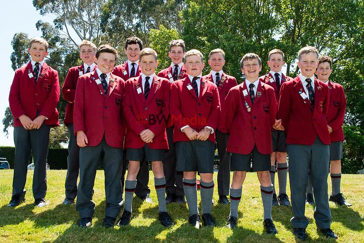 Huntley School during the National Primary School Cup Finalat the Bert Sutcliffe Oval, Lincoln University, Christchurch, New Zealand. Wednesday 22 November 2017. Photo: John Davidson/www.bwmedia.co.nz