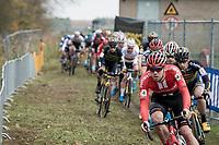 Joris Nieuwenhuis (NED/Sunweb) was the fastest man out of the start<br /> <br /> Elite Men's Race<br /> UCI cyclocross WorldCup - Koksijde (Belgium)<br /> <br /> ©kramon