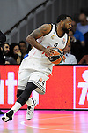 Real Madrid´s Kelvin Rivers during 2014-15 Euroleague Basketball Playoffs second match between Real Madrid and Anadolu Efes at Palacio de los Deportes stadium in Madrid, Spain. April 17, 2015. (ALTERPHOTOS/Luis Fernandez)