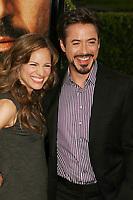 Robert Downey Jr. and Susan Levin, 4-20-2009 Photo By John Barrett/PHOTOlink