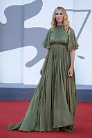 Sandrine Kiberlain attending the Un Autre Monde Premiere as part of the 78th Venice International Film Festival in Venice, Italy on September 09, 2021. <br /> CAP/MPIIS<br /> ©MPIIS/Capital Pictures