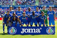 Getafe CF's team during La Liga match. May 05,2019. (ALTERPHOTOS/Alconada)<br /> Liga Campionato Spagna 2018/2019<br /> Foto Alterphotos / Insidefoto <br /> ITALY ONLY