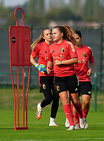 20200911 - TUBIZE , Belgium : Davinia VanMechelen pictured during a training session of the Belgian Women's National Team, Red Flames , on the 11th of September 2020 in Tubize. PHOTO SEVIL OKTEM | SPORTPIX.BE