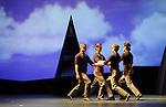 LE PARC....Choregraphie : PRELJOCAJ Angelin..Compositeur : MOZART Wolfgang Amadeus..Compagnie : Ballet National de L Opera de Paris..Orchestre : Orchestre Colonne..Decor : LEPROUST Thierry..Lumiere : CHATELET Jacques..Costumes : PIERRE Herve..Avec :..GAUDION Mallory..ISOART Gil..GAILLARD Gregory..COUVEZ Adrien..Lieu : Opera Garnier..Ville : Paris..Le : 04 03 2009..© Laurent PAILLIER / www.photosdedanse.com..All rights reserved
