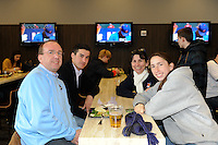 VIP reception. The United States (USA) and Argentina (ARG) played to a 1-1 tie during an international friendly at the New Meadowlands Stadium in East Rutherford, NJ, on March 26, 2011.