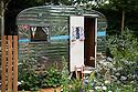 A Celebration of Caravanning show garden, designed by Jo Thompson, RHS Chelsea Flower Show 2012.