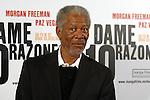 Morgan Freeman - DAME 10 RAZONES Photocall in Barcelona.
