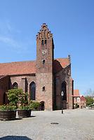Kirche St.Petri, Ystad, Provinz Skåne (Schonen), Schweden, Europa<br /> St. Peter's church Stortorget  in Ystad, Sweden