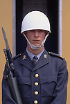 Europe, SWE, Sweden, Stockholm, Royal Guard in front of the Royal Palace....[ For each utilisation of my images my General Terms and Conditions are mandatory. Usage only against use message and proof. Download of my General Terms and Conditions under http://www.image-box.com or ask for sending. A clearance before usage is necessary...Material is subject to royalties. Each utilisation of my images is subject to a fee in accordance to the present valid MFM-List...Contact | archive@image-box.com | www.image-box.com ]