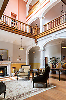 BNPS.co.uk (01202) 558833<br /> Pic: TheCountryHouseDepartment/BNPS<br />  <br /> A grand country manor house owned by royalty and with a history dating back to Saxon times is on the market for £6.75m.<br /> <br /> Grade II Listed Everleigh Manor was owned by the Crown during the reigns of Henry IV, Henry VIII and Elizabeth I, before the Queen granted it to her chief falconer.<br /> <br /> The impressive property has had tough times in its history - partly destroyed by fire in 1882, when it was rented by a wealthy gunpowder maker, and stripped of its oak timbers when it was bought by a timber merchant in 1917.<br /> <br /> But the current owners bought the house near Marlborough, Wilts, 22 years ago and have carried out a complete renovation to restore it to its former glory.