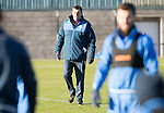St Johnstone Training…18.11.16<br />Manager Tommy Wright pictured during training this morning at McDiarmid Park ahead of tomorrow's game against Ross County<br />Picture by Graeme Hart.<br />Copyright Perthshire Picture Agency<br />Tel: 01738 623350  Mobile: 07990 594431