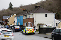2020 01 28 Body found, Pontwalby, Glynneath, Wales, UK