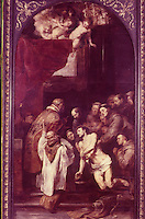 Peter Paul Rubens 1577-1640.  Communion of St. Francis. Cinescopie.  Reference only.