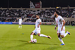Sayed Dhiya Saeed of Bahrain (L) in action during the AFC Asian Cup UAE 2019 Group A match between India (IND) and Bahrain (BHR) at Sharjah Stadium on 14 January 2019 in Sharjah, United Arab Emirates. Photo by Marcio Rodrigo Machado / Power Sport Images