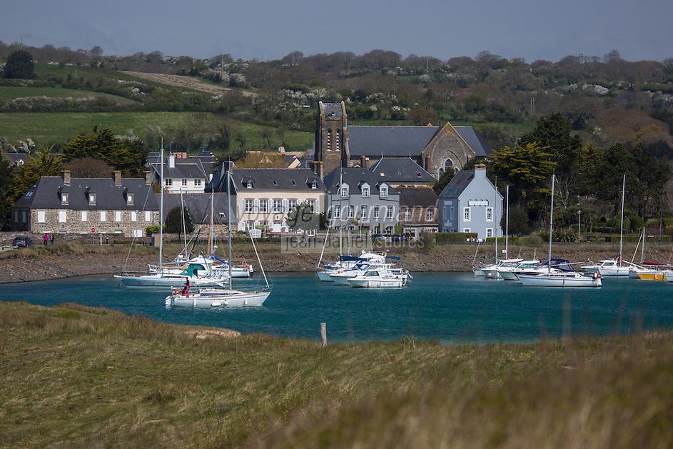 Europe/France/Normandie/Basse-Normandie/50/Manche/Barneville-Carteret: Le port en eau , Marina de Carteret