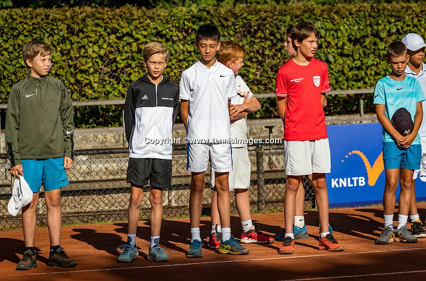 Hilversum, Netherlands, Juli 29, 2019, Tulip Tennis center, National Junior Tennis Championships 12 and 14 years, NJK, Opening: <br /> Photo: Tennisimages/Henk Koster