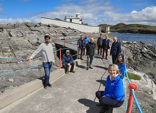 The Lighthouse Project is managed by a community group established by volunteers from Valentia Island