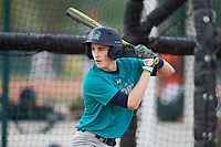 Joey Kurtz (63), from Westborough, Massachusetts, while playing for the Mariners during the Baseball Factory Pirate City Christmas Camp & Tournament on December 29, 2017 at Pirate City in Bradenton, Florida.  (Mike Janes/Four Seam Images)