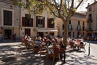 Spanien, Mallorca, auf der Placa Santa Eulalia in Palma de Mallorca