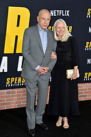 "LOS ANGELES, CA: 27, 2020: Alan Arkin & Suzanne Newlander Arkin at the world premiere of ""Spenser Confidential"" at the Regency Village Theatre.<br /> Picture: Paul Smith/Featureflash"