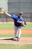 Nick Tepesch - Texas Rangers - 2010 Instructional League.Photo by:  Bill Mitchell/Four Seam Images..
