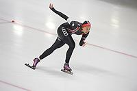 SPEEDSKATING: 07-12-2018, Tomaszów Mazowiecki (POL), ISU World Cup Arena Lodowa, 1000m Ladies Division B, Xin Zhao (CHN), ©photo Martin de Jong