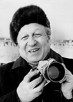 Simon Raskin, Photographed top Soviet leaders<br /> <br /> Photo : Boris Spremo - Toronto Star archives - AQP