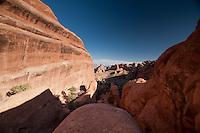 Devils Garden, Arches National Park, Utah, US